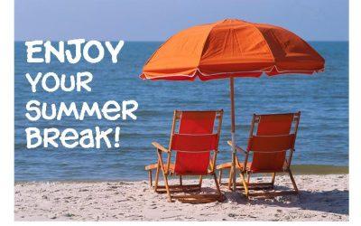Wednesday Bible Study on Summer Break